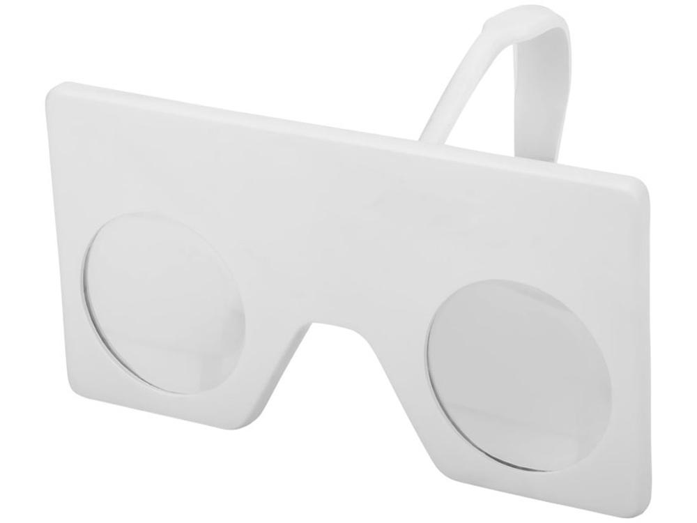 Мини виртуальные очки с клипом, белый