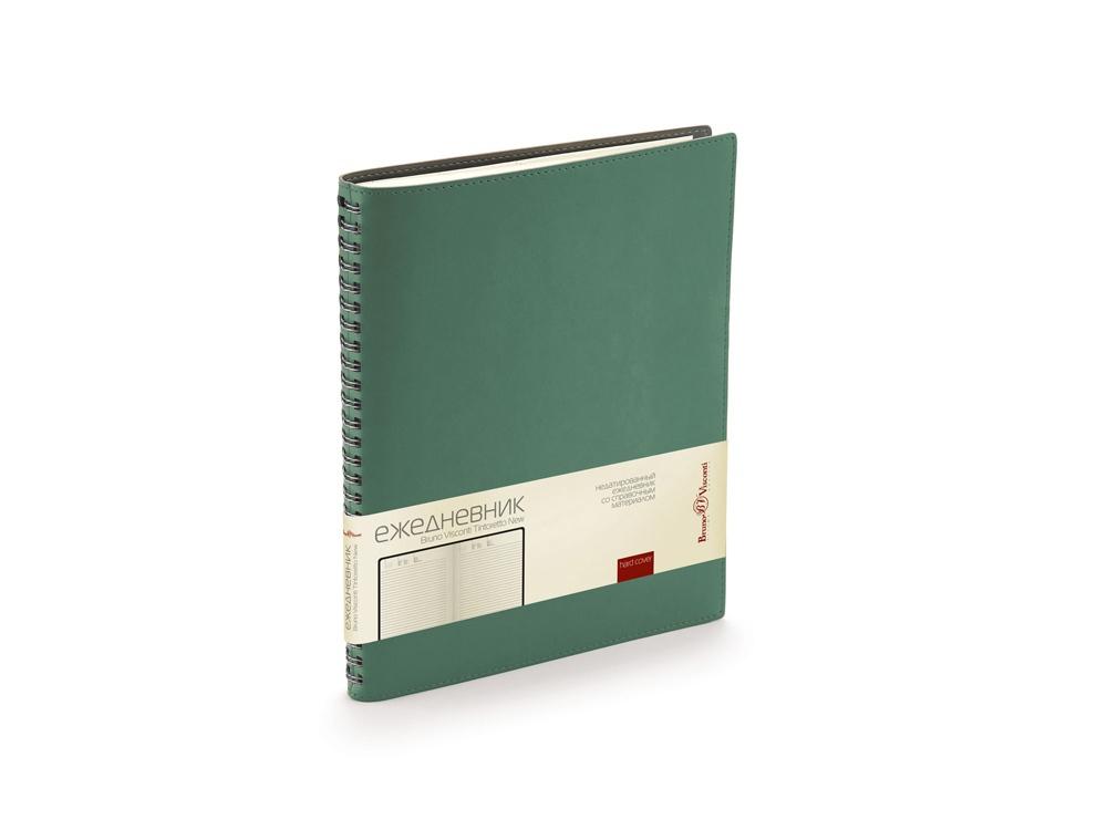 Ежедневник недатированный B5 Tintoretto New, зеленый