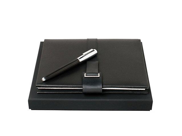 Подарочный набор: блокнот А5, ручка перьевая