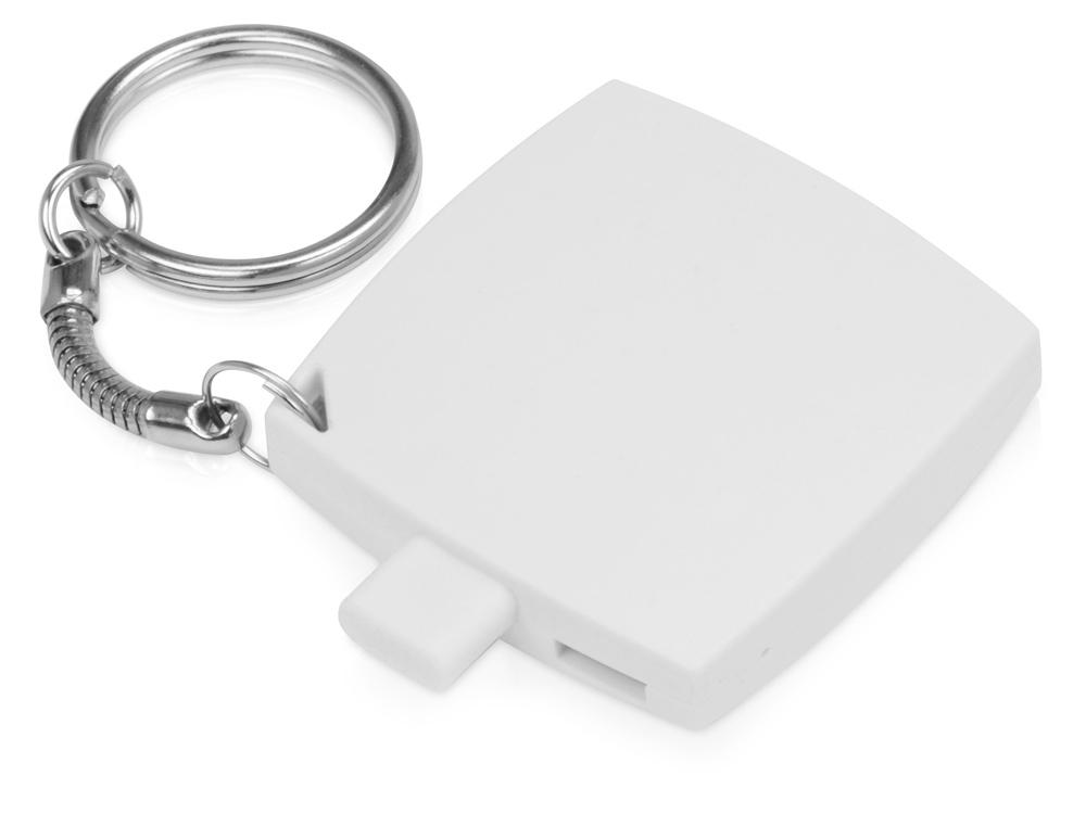 Портативное зарядное устройство-брелок Saver, 600 mAh, белый