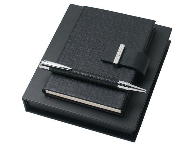 Подарочный набор Uuuu Homme: ручка шариковая, блокнот А6 (арт. UPBN410)