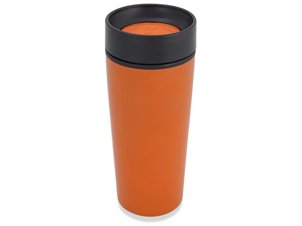 Кружка с термоизоляцией на 450 мл, оранжевый