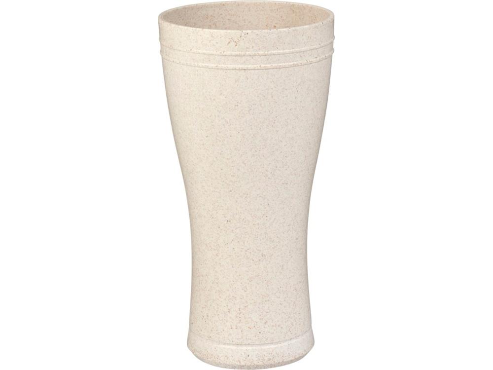 Пивной стакан из пшеничной соломы Tagus объемом 400мл, бежевый
