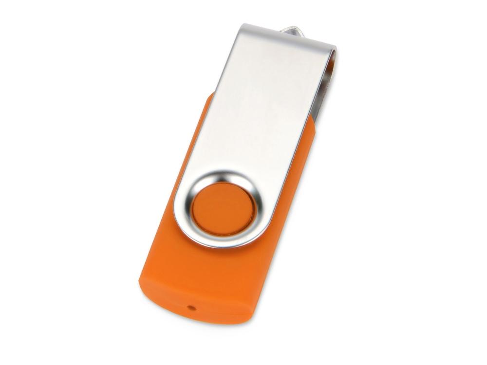 Флеш-карта USB 2.0 16 Gb Квебек, оранжевый