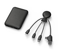 Портативное зарядное устройство «BioPack» c кабелем «Mr. Bio», 5000 mAh (арт. 965112), фото 2