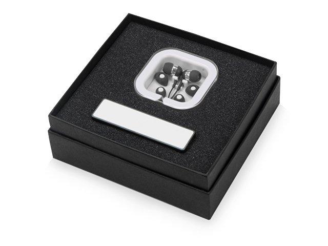 Подарочный набор «Non-stop music» с наушниками и зарядным устрой