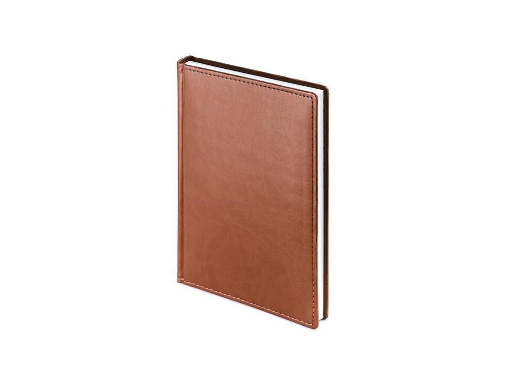 Ежедневник недатированный А5 Velvet, светло-коричневый