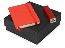 Подарочный набор To go с блокнотом А6 и зарядным устройством (арт. 700309.01)