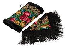 Подарочный набор: Павлопосадский платок, муфта (арт. 74771)