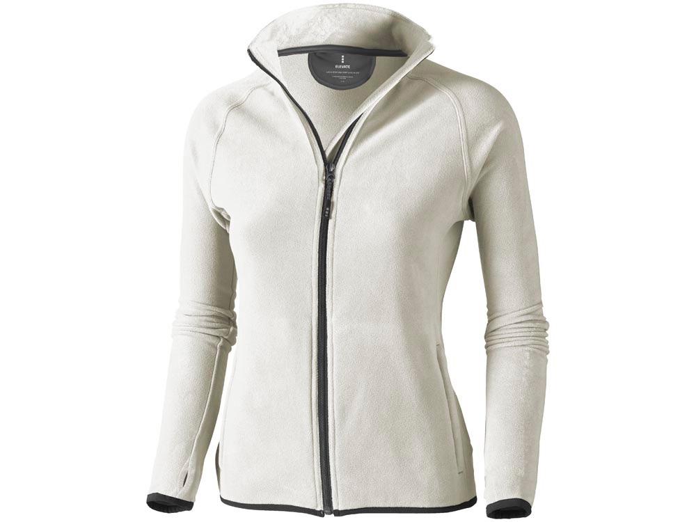 Куртка флисовая Brossard женская, светло-серый