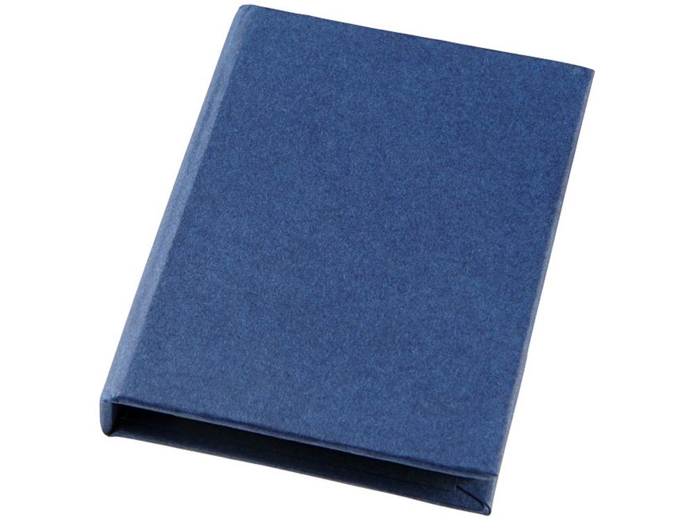 Небольшой комбинированный блокнот, синий