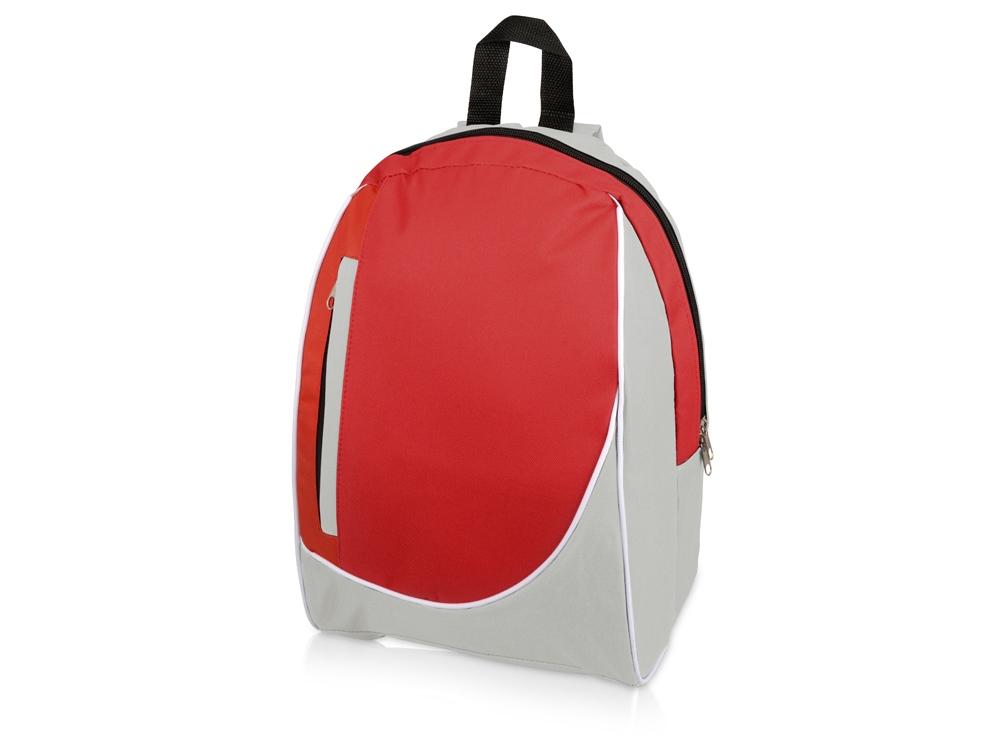 Рюкзак Джек, светло-серый/красный