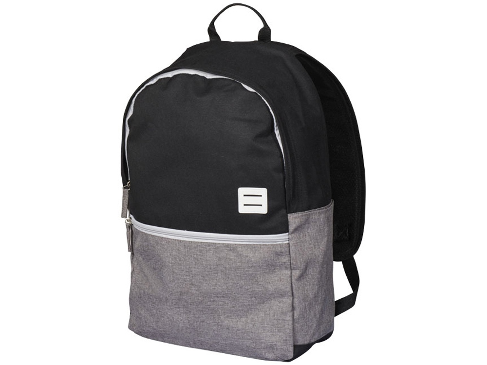 Рюкзак Oliver для ноутбука 15, серый/черный
