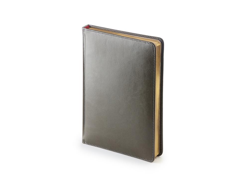 Ежедневник А5 датированный Sidney Nebraska 2020, серый
