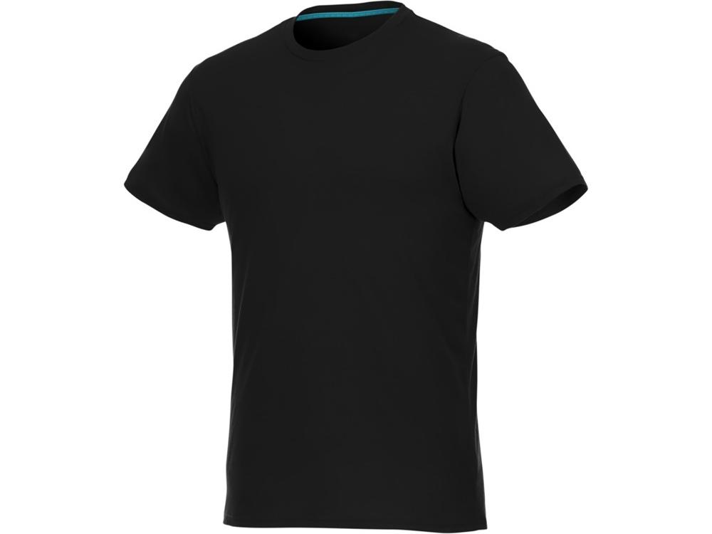 Мужская футболка Jade из переработанных материалов с коротким рукавом, черный