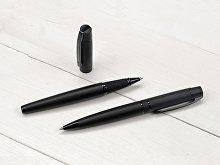 Ручка металлическая роллер «VIP R GUM» soft-touch с зеркальной гравировкой (арт. 187931.07), фото 2