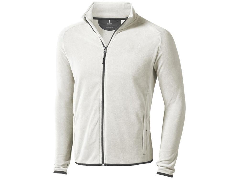 Куртка флисовая Brossard мужская, светло-серый