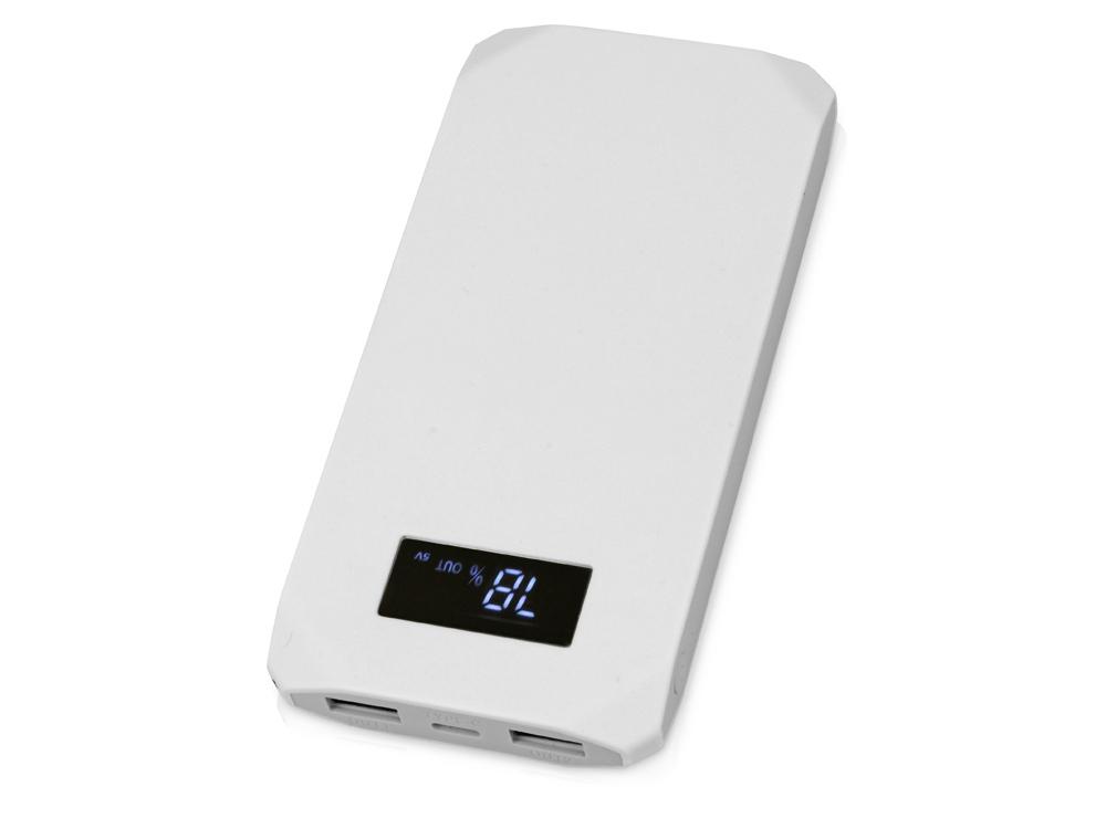 Портативное зарядное устройство Quickr с функцией быстрой зарядки, 10000 mAh, серый