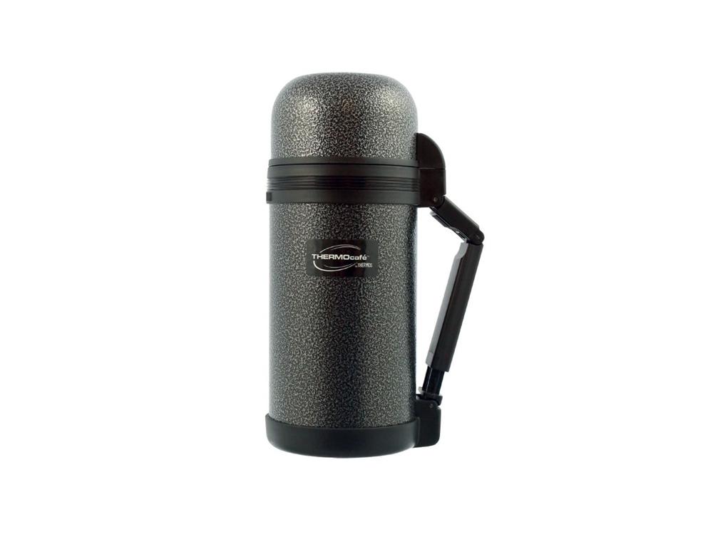 Термос из нерж. стали тм ThermoCafe HAMMP-1200-HT, 1.2L, серый