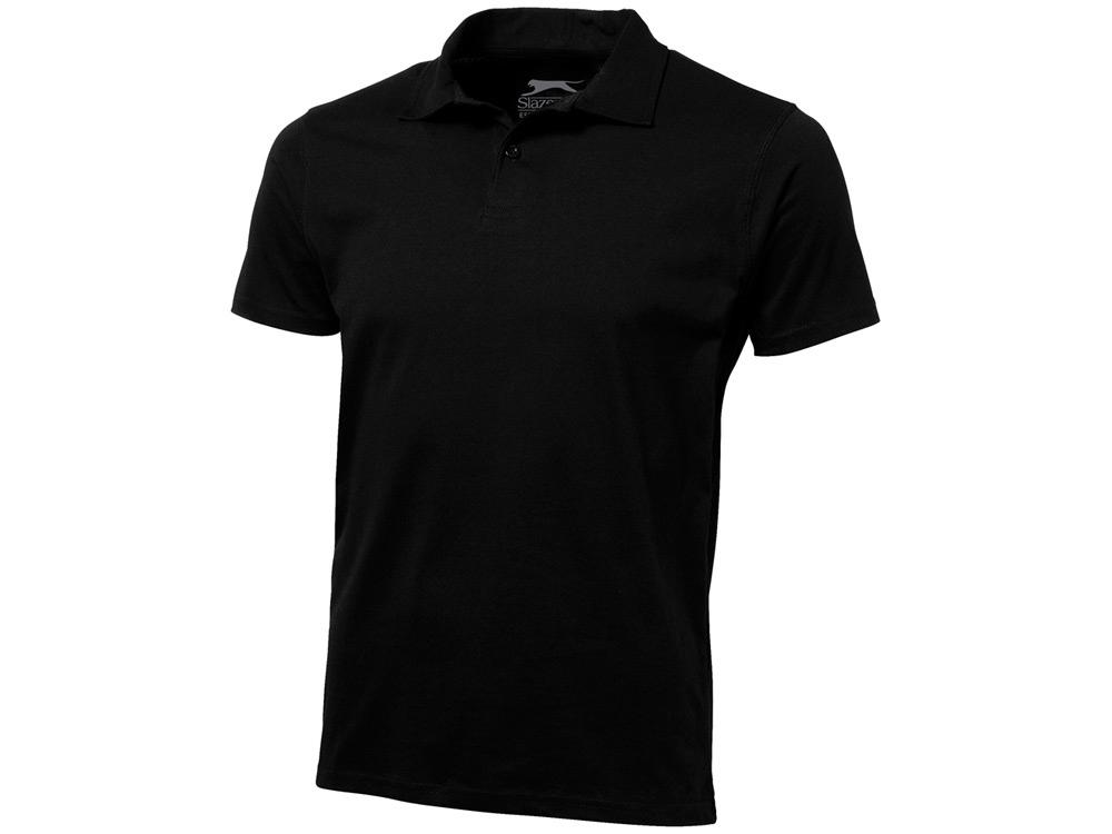 Рубашка поло Let мужская, черный