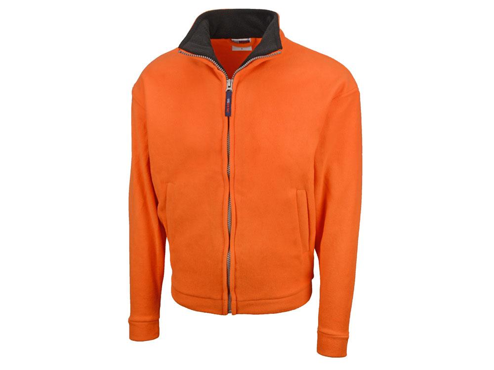 Куртка флисовая Nashville мужская, оранжевый/черный