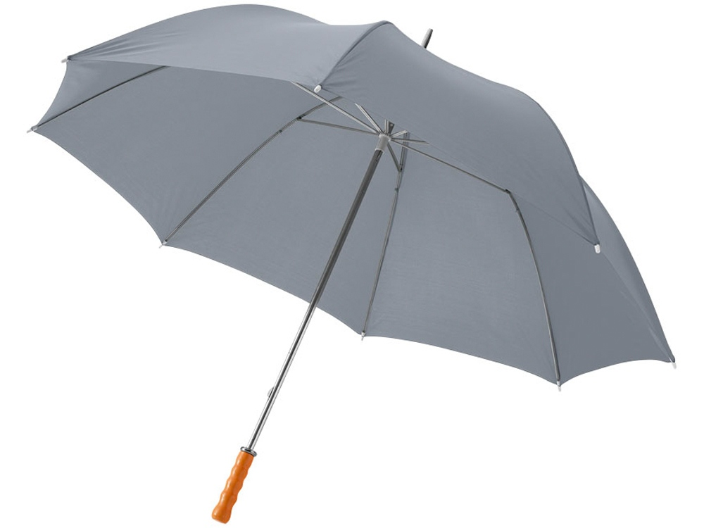 Зонт Karl 30 механический, серый