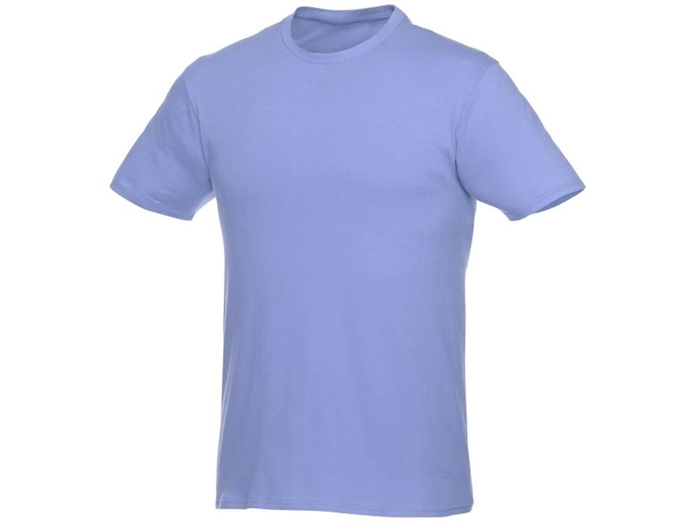Футболка-унисекс Heros с коротким рукавом, светло-синий