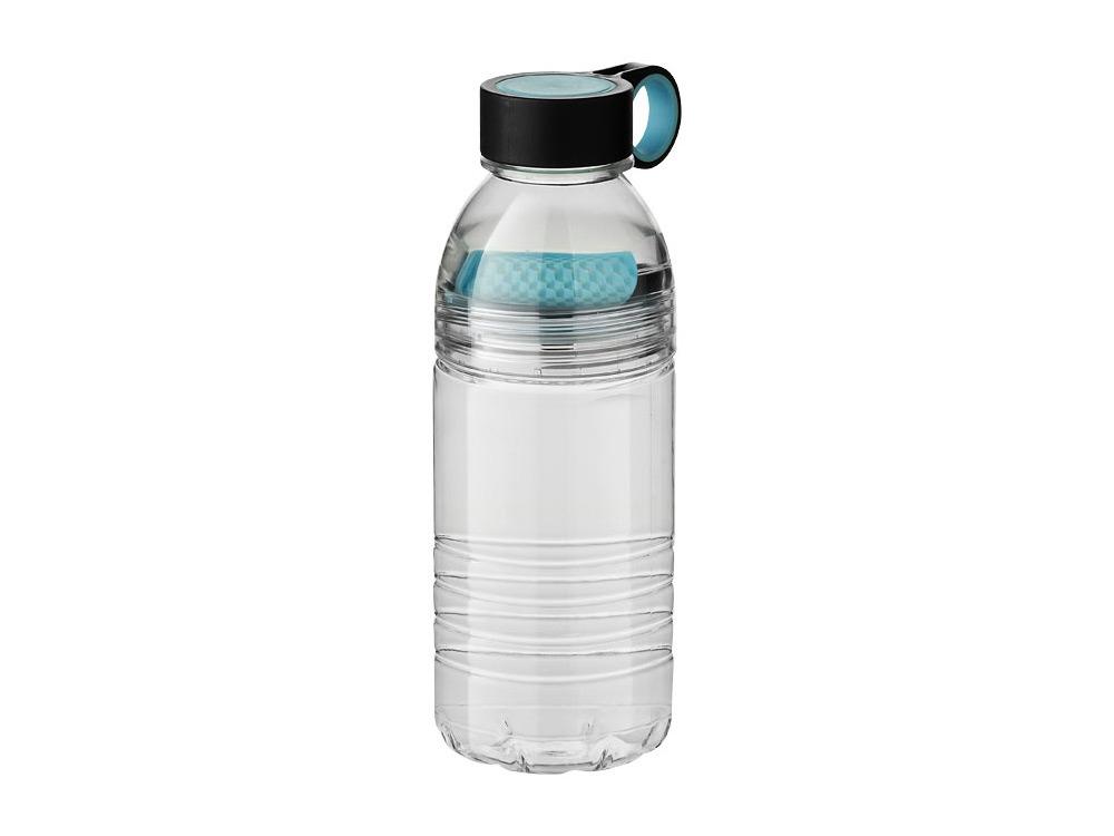 Бутылка спортивная Slice на 600 мл, голубой