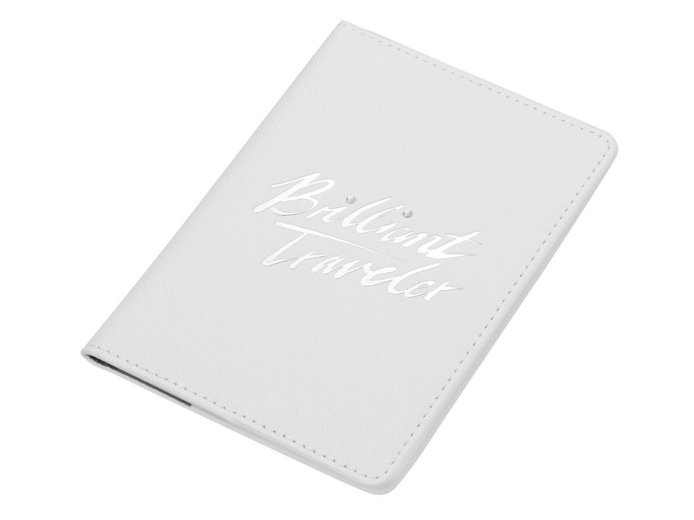 Обложка для паспорта Brilliant Traveller. Swarovski