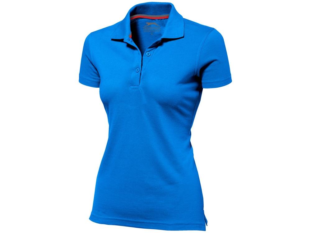 Рубашка поло Advantage женская, небесно-голубой