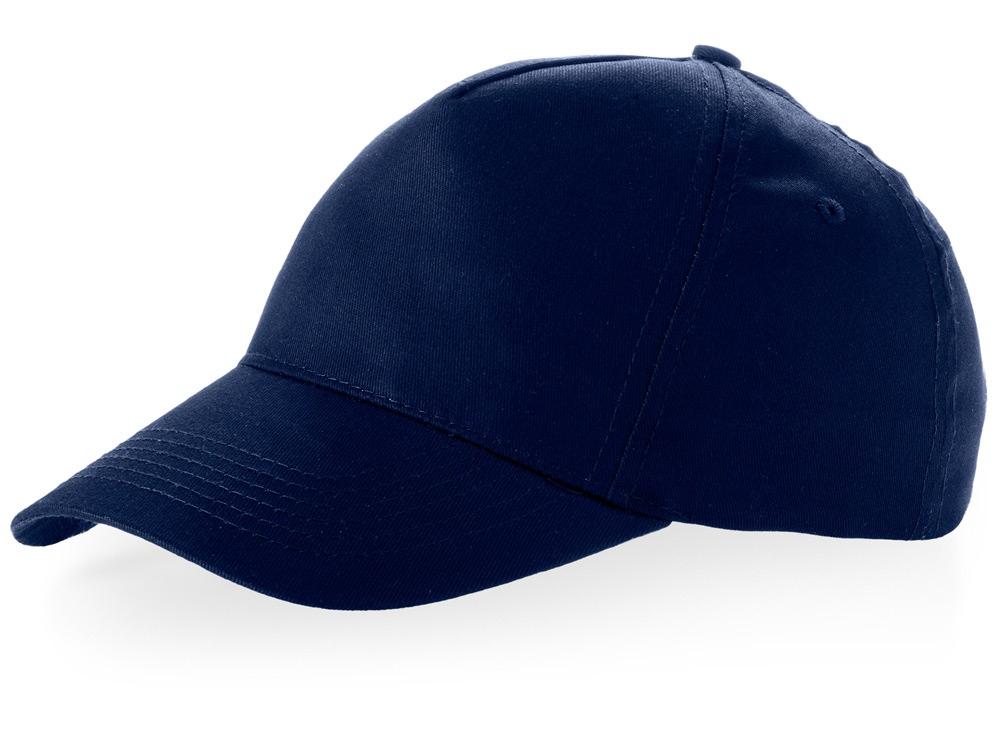 Бейсболка Brunswick, 5 панелей, темно-синий