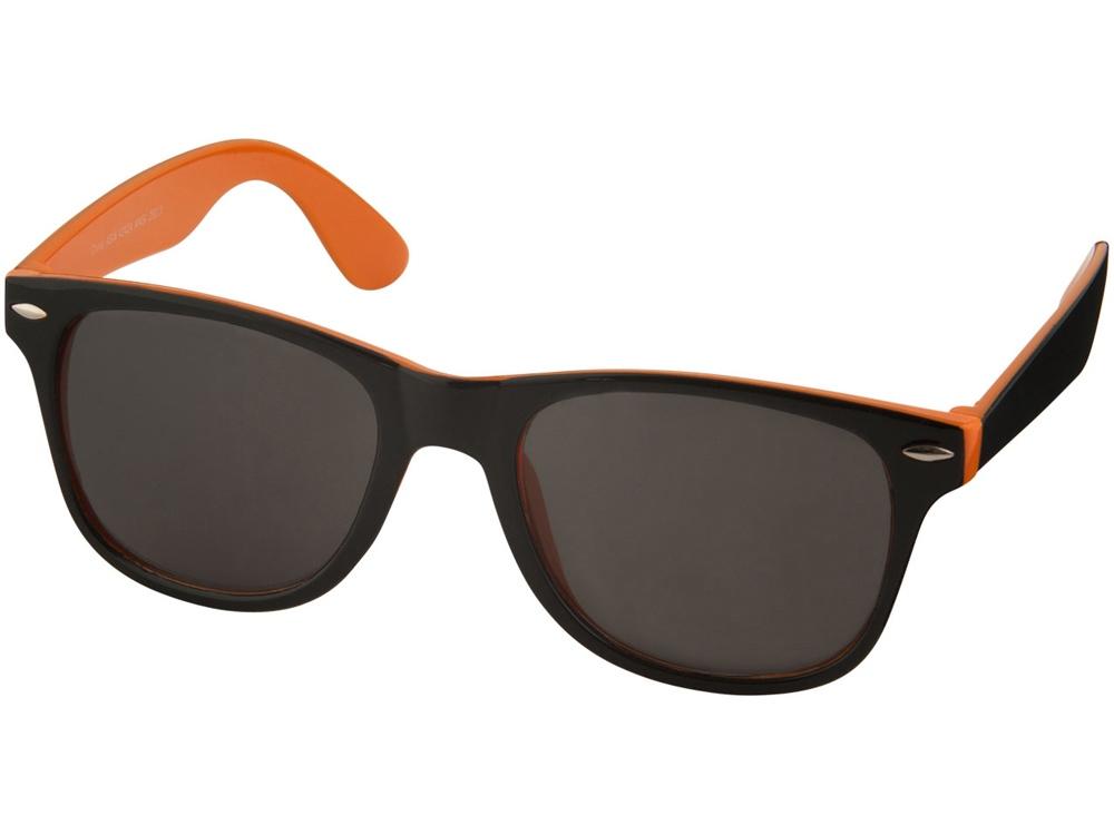 Солнцезащитные очки Sun Ray, оранжевый/черный