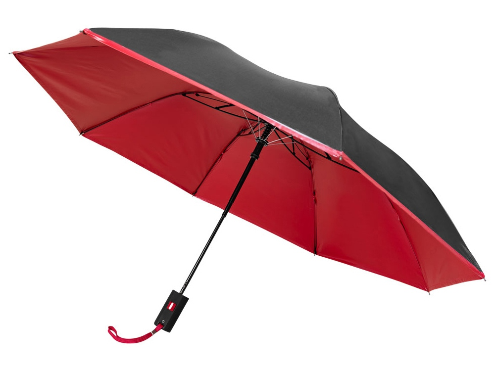 Зонт Spark двухсекционный, 21, красный