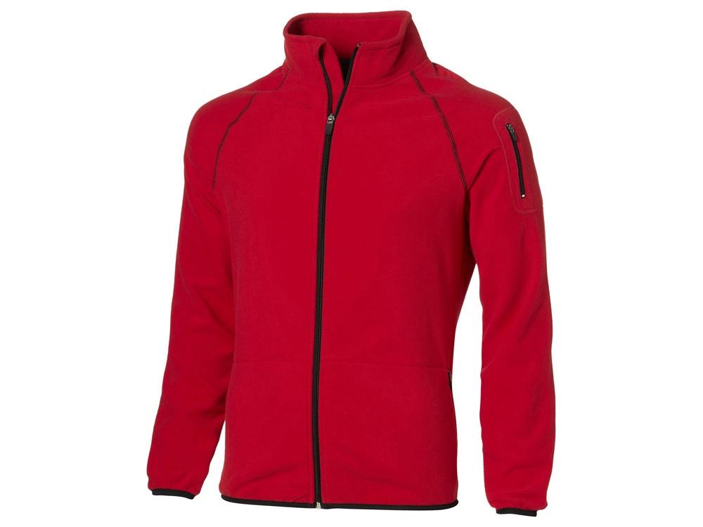 Куртка Drop Shot из микрофлиса мужская, красный