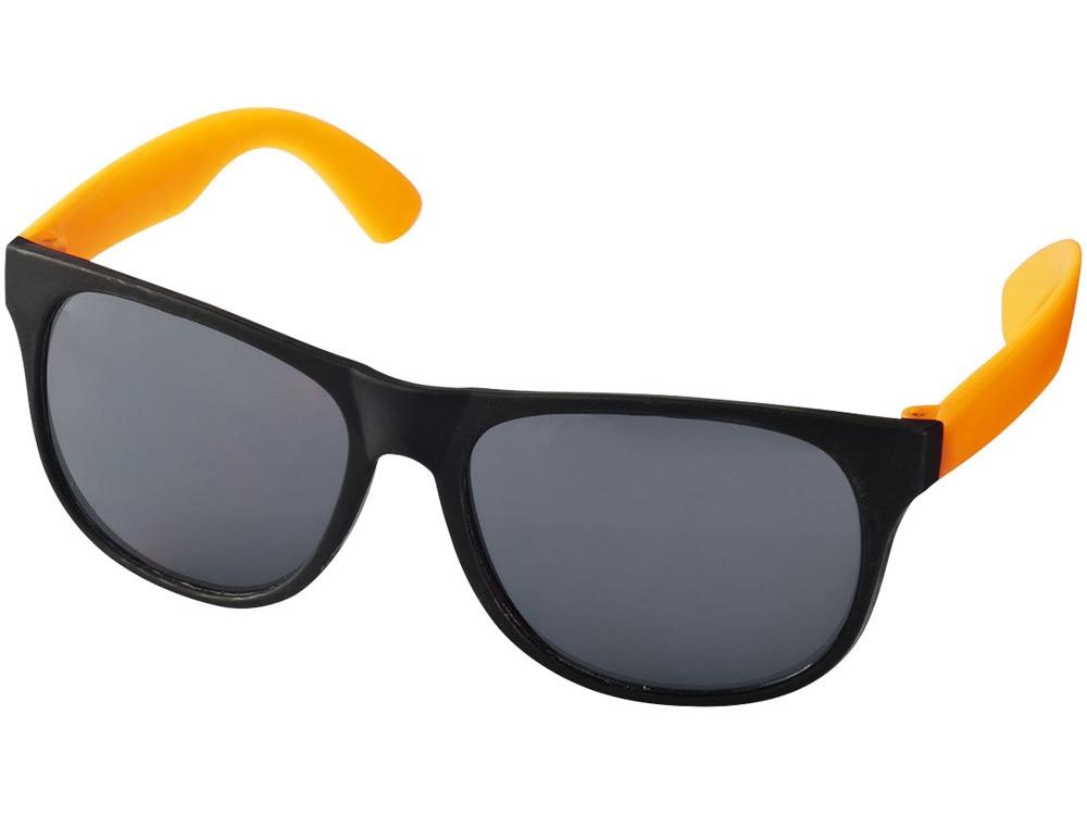 Очки солнцезащитные Retro, неоново-оранжевый