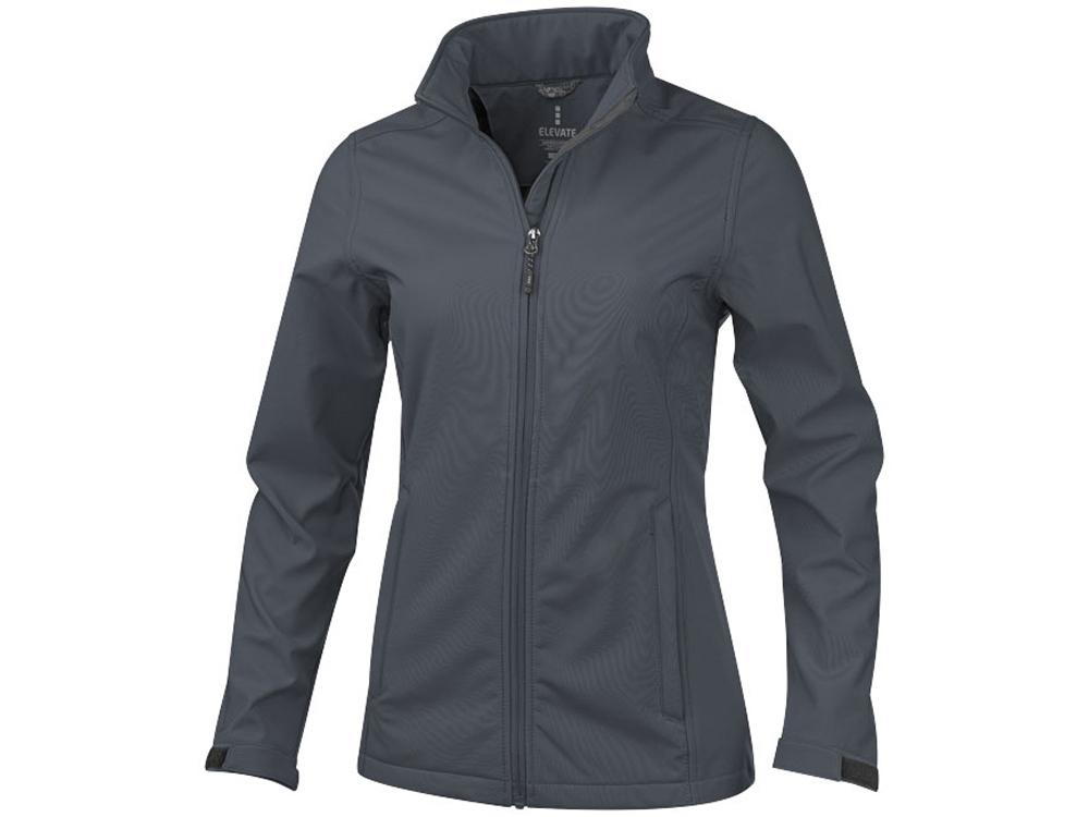 Куртка софтшел Maxson женская, серый