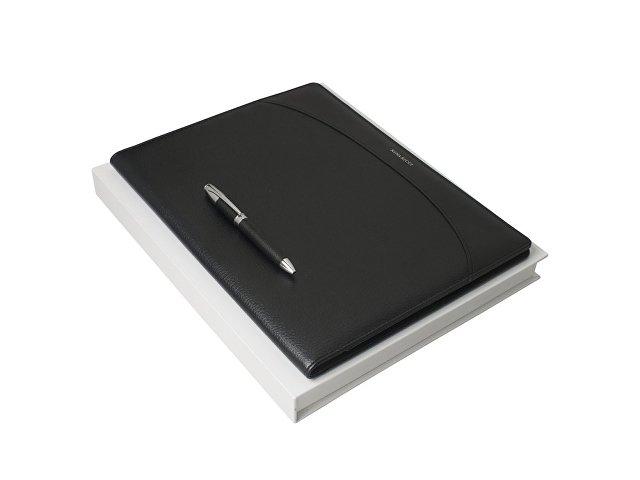 Подарочный набор Embrun: папка формата А4, ручка шариковая