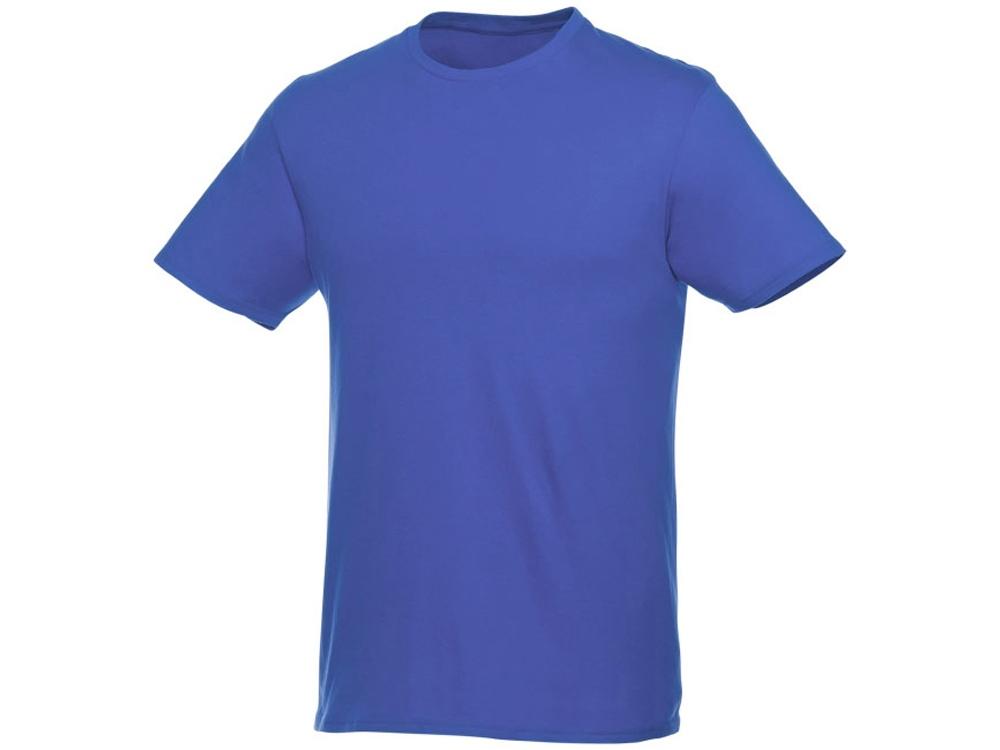Футболка-унисекс Heros с коротким рукавом, синий