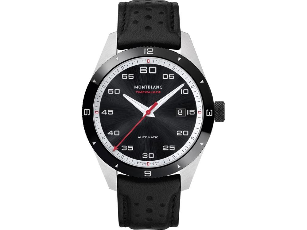 Часы наручные TimeWalker Date Automatic, мужские. Montblanc