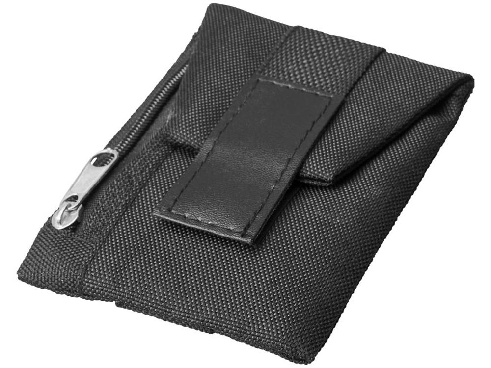 Бумажник Keeper для ношения на обуви, черный