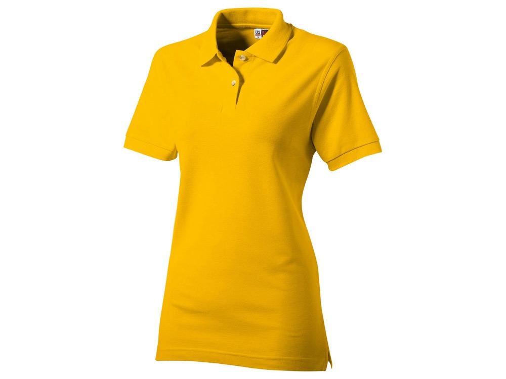 Рубашка поло Boston женская, золотисто-желтый