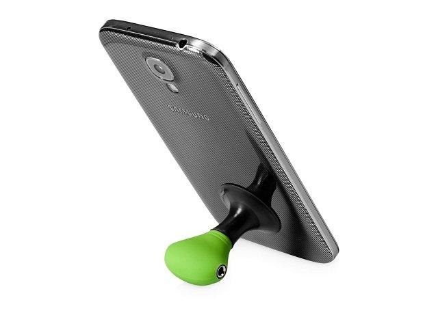 Музыкальный сплиттер-подставка для телефона Spartacus «2 в 1», зеленый/черный