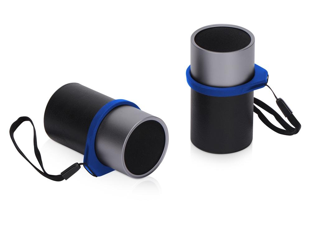 Портативные парные колонки Qjet Mates с синими кольцами
