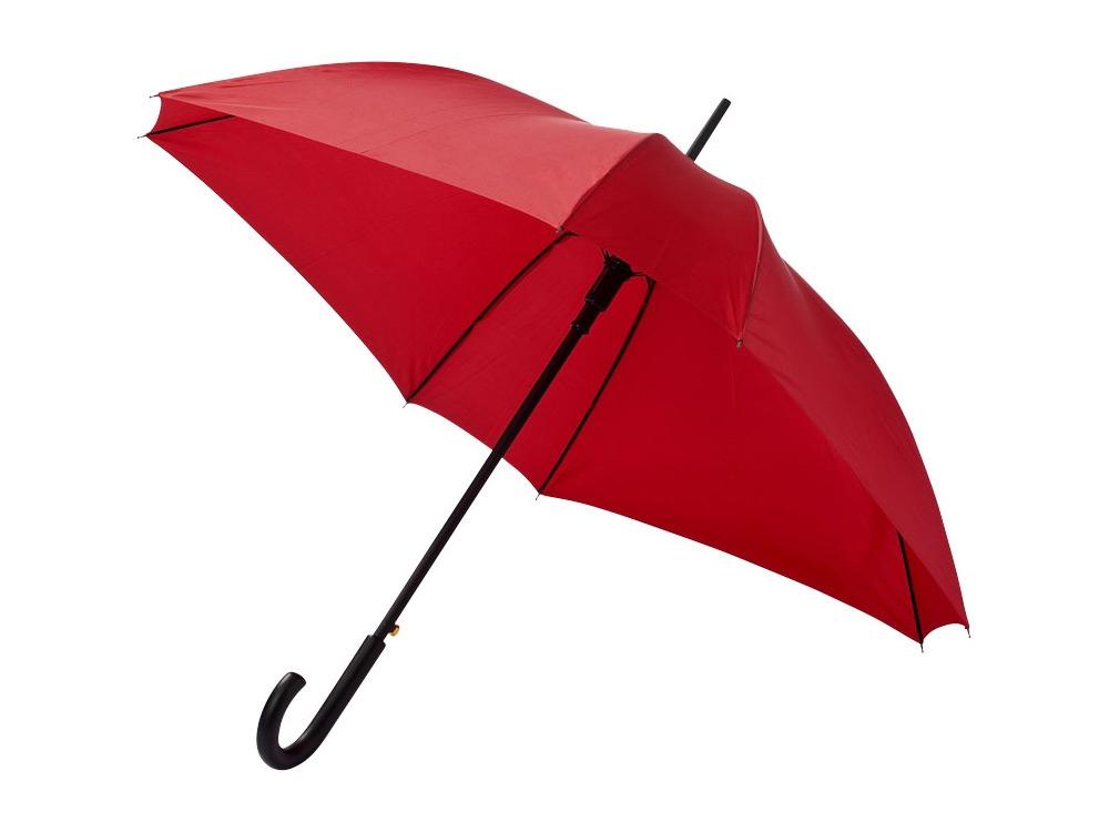 Зонт-трость Neki, полуавтомат 23,5, красный