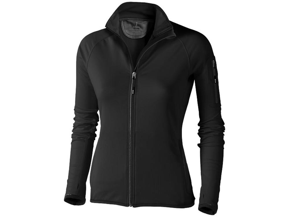 Куртка флисовая Mani женская, черный