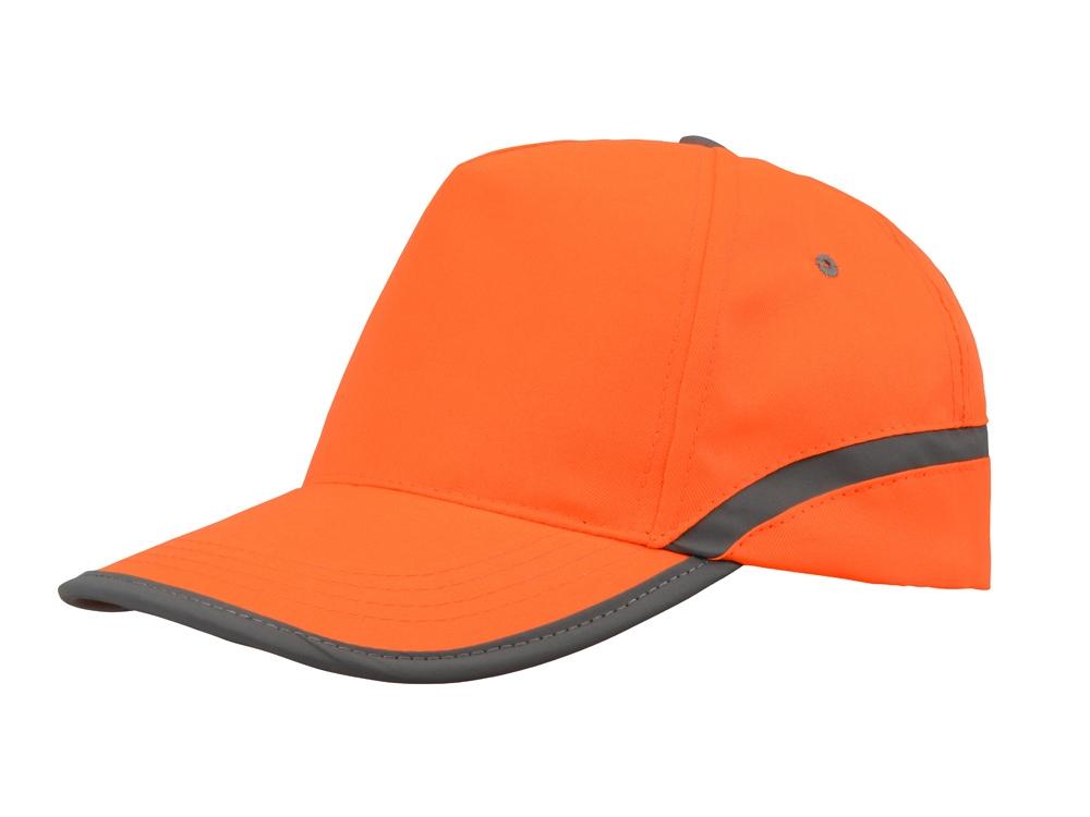 Бейсболка 5-ти панельная Neon, оранжевый