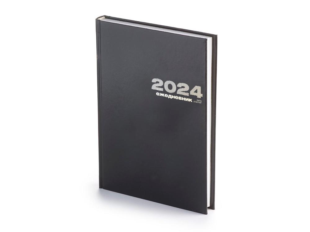 Ежедневник А5 датированный Бумвинил 2020, черный