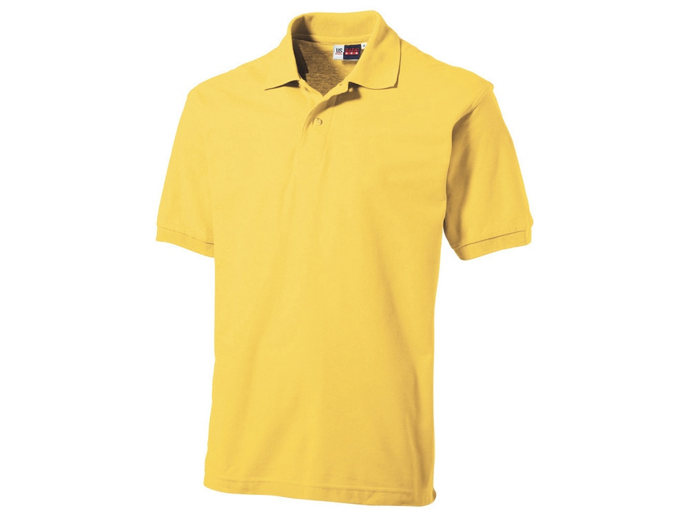 Рубашка поло Boston мужская, светло-желтый