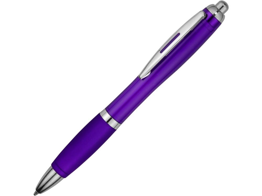 Ручка пластиковая шариковая Nash, пурпурный, синие чернила