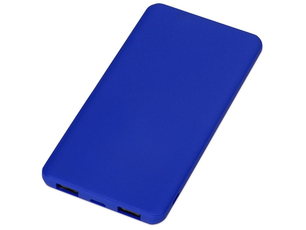 Портативное зарядное устройство Reserve с USB Type-C, 5000 mAh, синий
